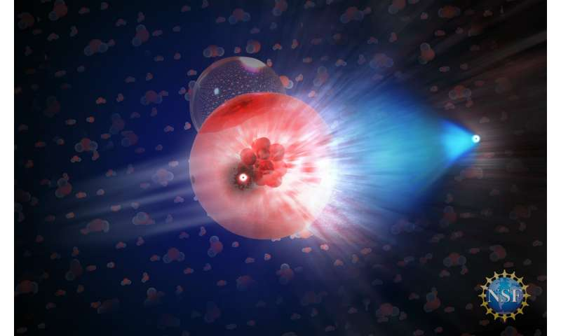 Neutrino observation points to one source of high-energy cosmic rays