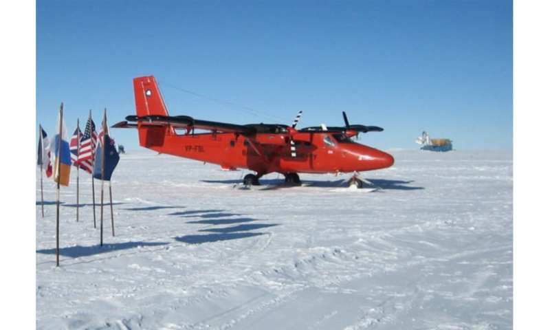 New magnetic anomaly map helps unveil Antarctica