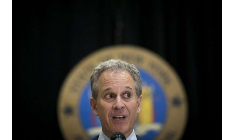 New York state Attorney General Eric Schneiderman says Facebook is cooperating with his probe into the hijacking of personal dat