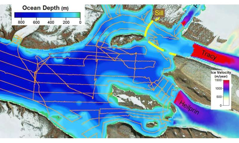 OMG, the water's warm! NASA study solves glacier puzzle