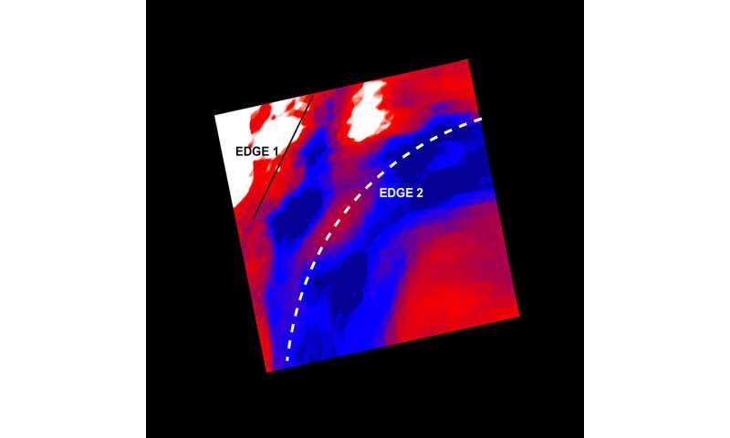 Perseus cluster: scientists surprised by relentless cosmic cold front