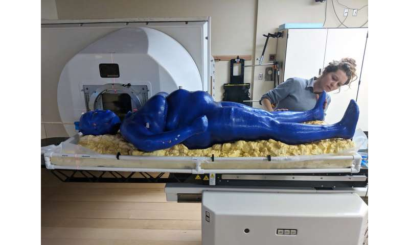 Phantom project: Student 3-D prints first full 'human' for radiation therapy research
