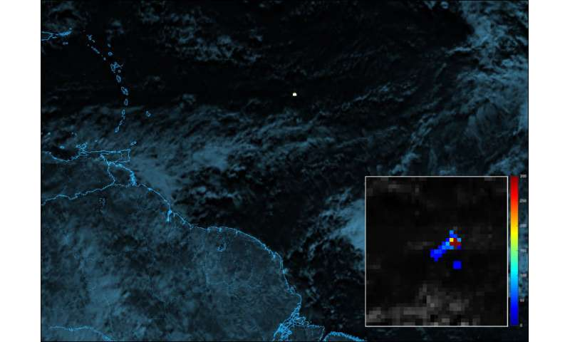 Planetary defense has new tool in weather satellite lightning detector