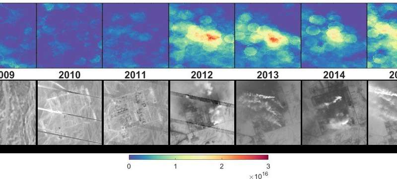 Pollution: New ammonia emission sources detected from space
