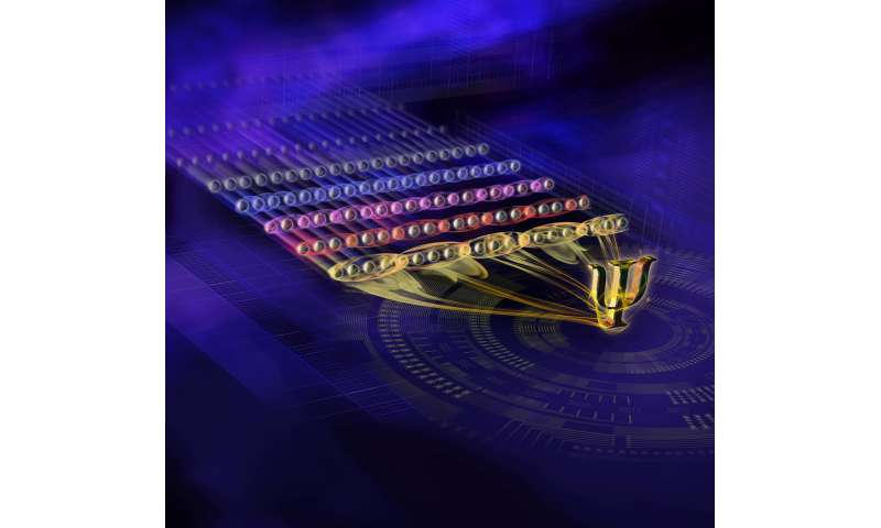 Quantum physicists achieve entanglement record