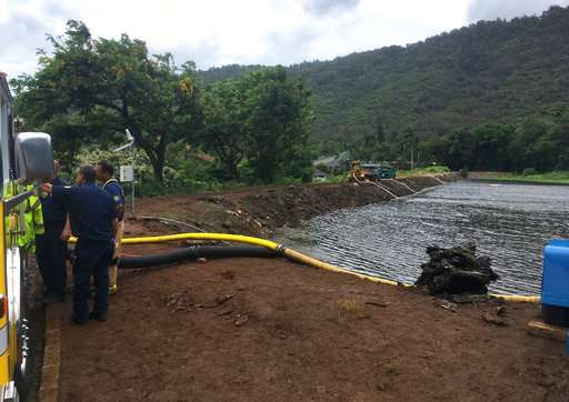 Report: Most dams in Hawaii have 'high hazard potential'