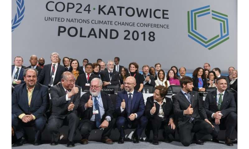 Representatives of nearly 200 nations have been holding talks at the UN's COP24 summit in the Polish mining city of Katowice