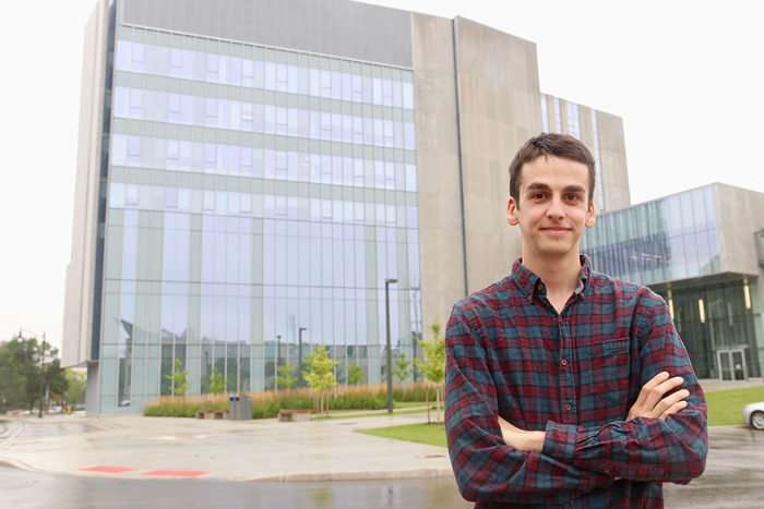 Researcher using bird's eye view to reduce building strikes