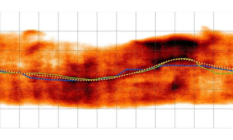 'Ribbon' wraps up mystery of Jupiter's magnetic equator