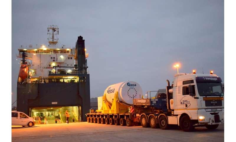 Road, rail, boat: Sandia transport triathlon puts spent nuclear fuel to the test