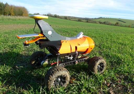 Robots en el campo: granjas que abarcan tecnología autónoma
