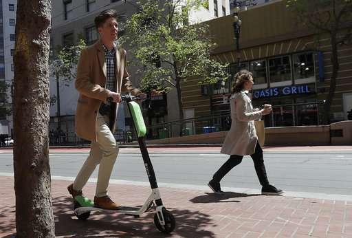 Scooter Rental San Francisco >> San Francisco To Require Permits For Rental Scooters