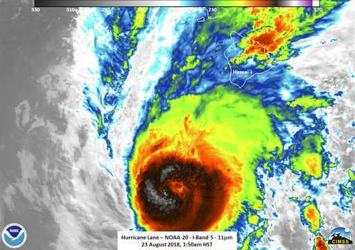 Science Says: Hawaii hurricanes rare, but getting less so