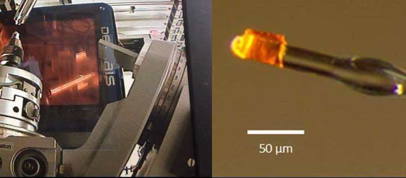Scientist at work: To take atomic-scale pictures of tiny crystals, use a huge, kilometer-long synchrotron