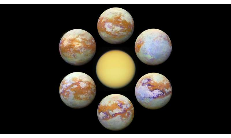 Seeing Titan with infrared eyes