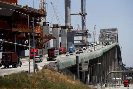 Sensors on new California bridge to record earthquake data