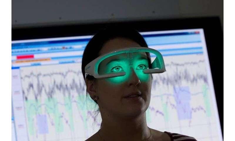 Sleep glasses help teenagers see the light