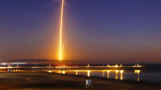Social media lights with SpaceX satellite launch