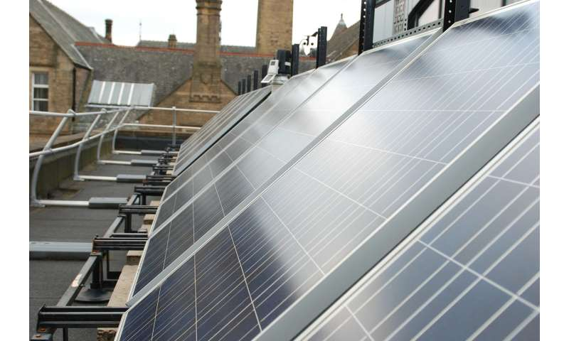 Solar power -- largest study to date discovers 25 percent power loss across UK