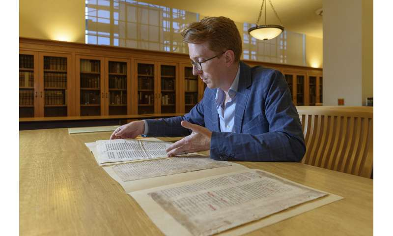 Solving the mystery of an unusual medieval text