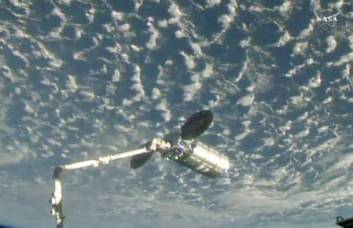 Space station accepts special delivery from Virginia