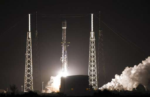 SpaceX racks up 50th launch of Falcon 9 rocket