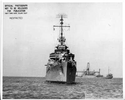 Stern of World War II US destroyer discovered off remote Alaskan island