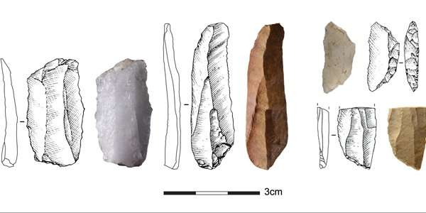 Stone tools from the Middle Stone Age in South Africa shows that different communities were connected over long time periods ove