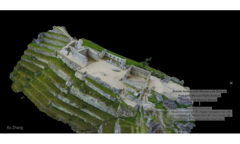 Team digitizes historic sanctuary of Machu Picchu