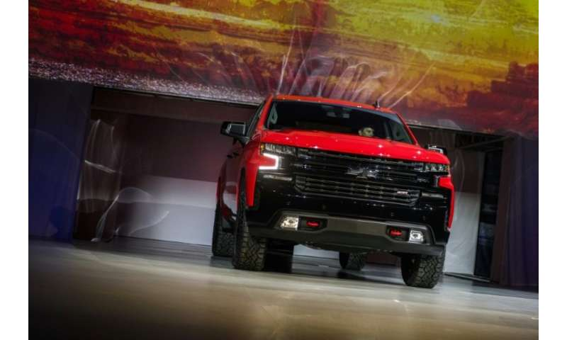 The 2019 Chevrolet Silverado is unveiled during the 2018 North American International Auto Show (NAIAS) in Detroit, one of sever