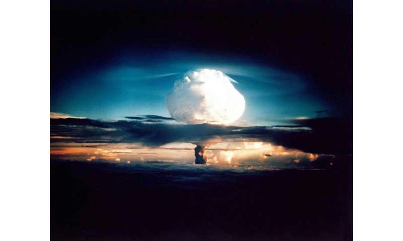 The Bulletin of Atomic Scientists mentioned new testing by North Korea, and an enhanced commitment to nuclear weapons in China,