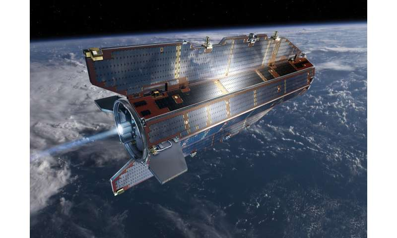 The satellite on the edge of space