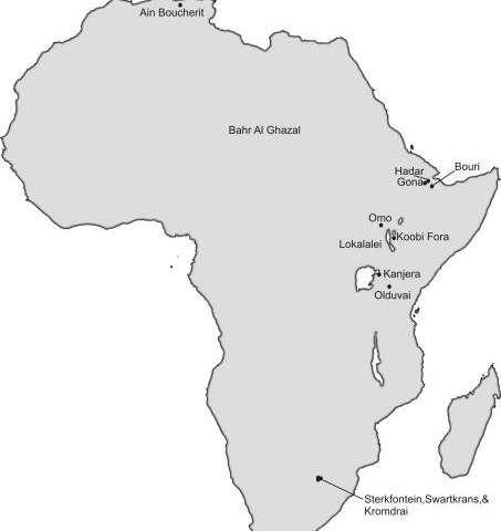 ** Toda África fue la cuna de la humanidad.