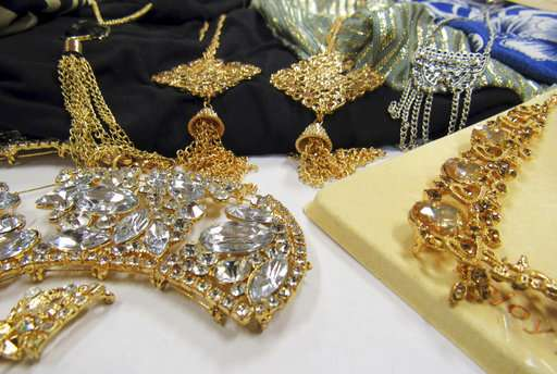 Toxic metal found in chain stores' jewelry