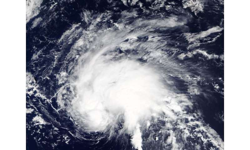 Tropical Depression 29W spins up in northwestern Pacific Ocean