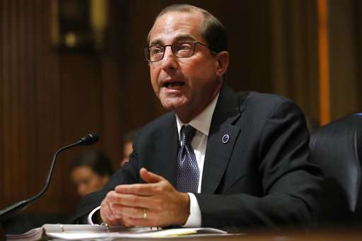 US health chief says overdose deaths beginning to level off