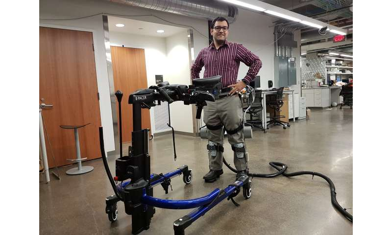 Using ultrasound to help people walk again