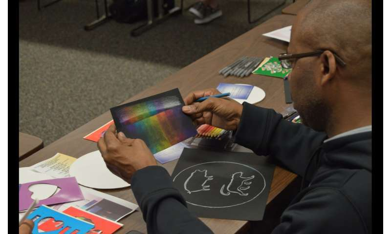UTA study finds art therapy helps veterans cope with trauma