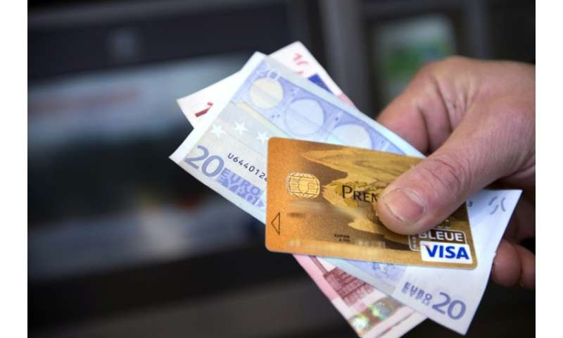 Visa users took to social media to complain of problems processing transactions in Europe