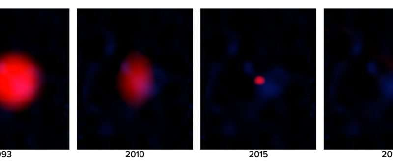 VLA sky survey reveals first 'orphan' gamma ray burst