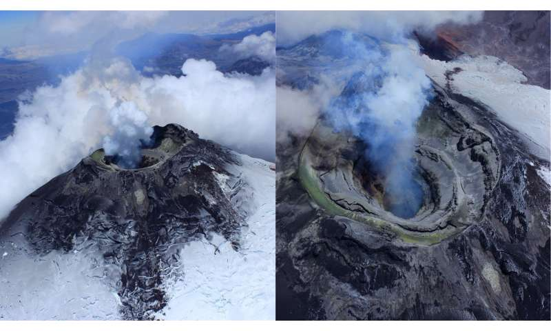 Volcano music could help scientists monitor eruptions