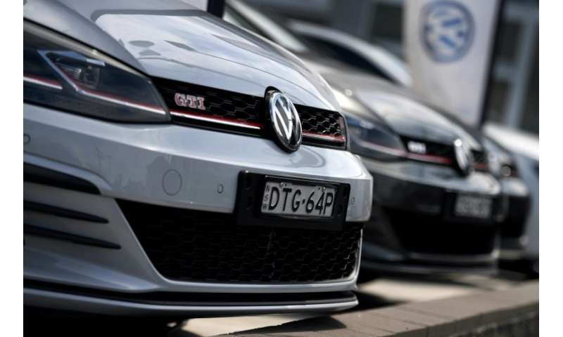 """VW already faces a class action lawsuit in Australia and Britain in connection with the """"dieselgate"""" scandal"""