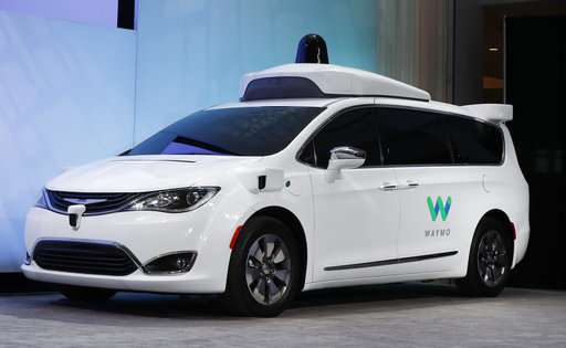Waymo's self-driving car service to include 62,000 minivans