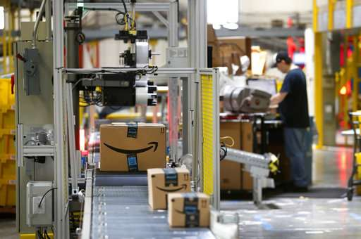 'We are totally happy,' says paid Amazon workers on Twitter