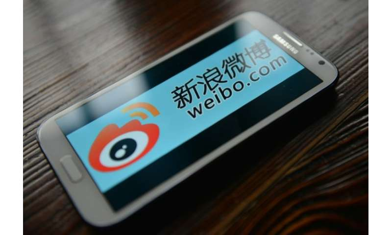 Weibo was launched in 2009 and has more than 400 million monthly active users, making it China's second biggest platform