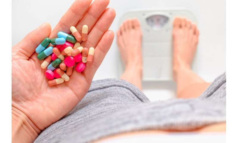 Why some people being treated with anti-psychotics gain weight