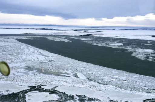 Winter is off to late start in normally frigid rural Alaska