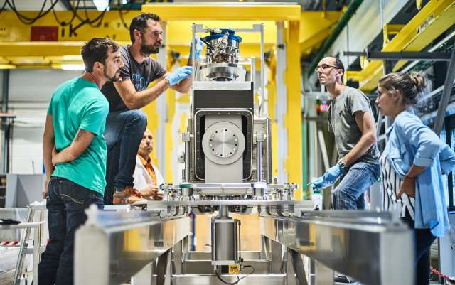 World's first crabbing of a proton beam