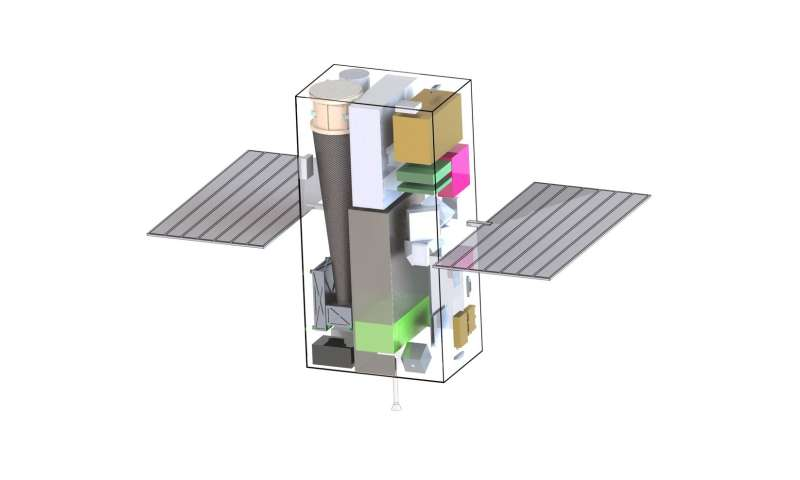 X-ray navigation considered for possible CubeSat mission