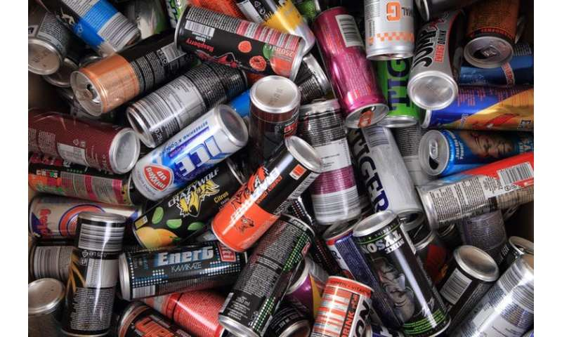 Young people in the U.K. drink more energy drinks than any other countries in Europe